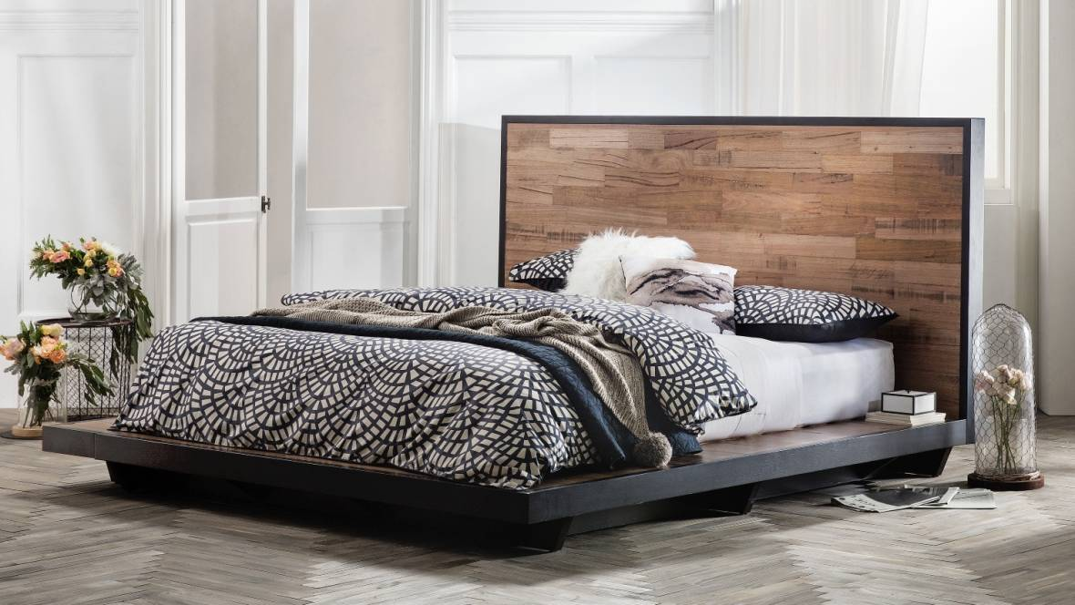 Get A More Natural Night S Sleep With These Wooden Bed Frames And Mattress Ensembles