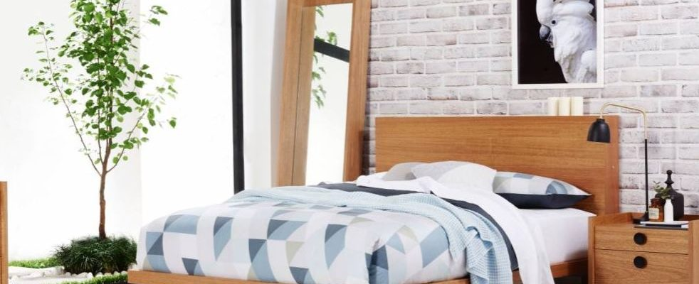 Get a More Natural Night's Sleep with these Wooden Bed Frames and Mattress Ensembles