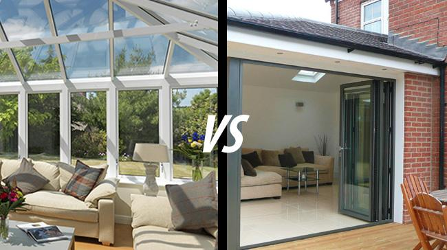 Conservatory Vs Extensions – Which is the best option?